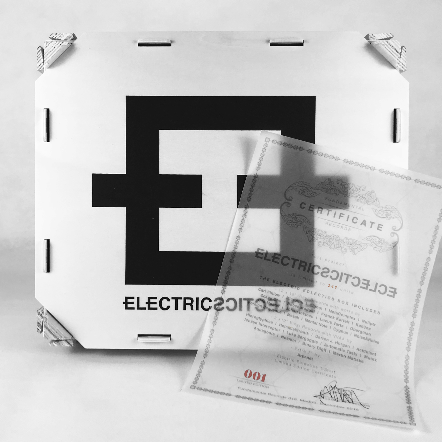 Electric Eclectics Full Box 31 Vinyl Records.